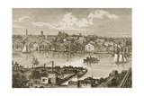 Baltimore, in C.1870, from 'American Pictures' Published by the Religious Tract Society, 1876 Giclee Print by  English School