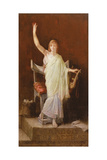 Sappho, 1888 Giclee Print by Louis Hector Leroux