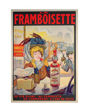 Poster Advertising 'La Framboisette' Giclee Print by Francisco Tamagno