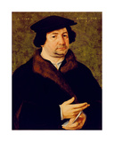 Portrait of a Man Aged 49, 1542 Giclee Print by Bartholomaeus Bruyn