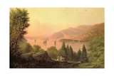 Picnic Along the Hudson, 1881 Giclee Print by Robert Walter Weir