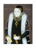 Portrait of Queen Elizabeth I (1533-1603) C.1558 Giclee Print