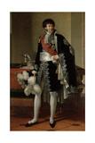 Henri-Jacques-Guillaume Clarke, Duc De Feltre (1765-1818) Giclee Print by Francois Xavier Fabre