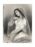 Louise Francoise De La Baume De La Blanc (1644-1710) Duchesse De La Valliere, Illustration from… Giclee Print by Pierre Gustave Eugene Staal