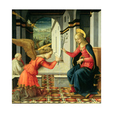 The Annunciation (Detail) Giclee Print by Filippo Lippi