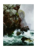 The Fowler's Crag, 1887 Impression giclée par Peter Graham
