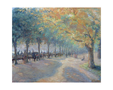 Hyde Park, 1890 Giclee Print by Camille Pissarro