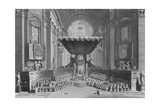 Canonization of Saints in St. Peter's Church in Rome, in 1712, Engraved by T. Brown, from 'World… Giclee Print by  Picart (After)