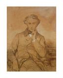 Portrait of Henri Reber (1807-80) Giclee Print by Eugene Emmanuel Amaury-Duval