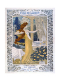 Poster Advertising 'Eau De Lubin', C.1900 Giclee Print by Eugene Grasset