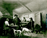 Interior of a Country Inn Photographic Print by George Morland