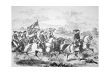 J.E.B. Stuart Leading His Men on the Famous Four Day Ride Through Enemy Territory in June 1862 Giclee Print by Frank Vizetelly