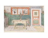 The Dining Room, from 'A Home' Series, C.1895 Giclee Print by Carl Larsson