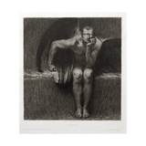 Lucifer, 1892 Giclee Print by Franz von Stuck