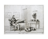 The Artist's Rest, 1815 Giclee Print by Bartolomeo Pinelli