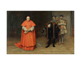 The Disgrace of Cardinal Wolsey (1475-1530) Giclee Print by John Pettie