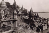 View of Benares, 1890 Photographic Print by  English Photographer
