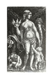 Standing Venus with Two Putti, C.1480 Giclee Print by Albrecht Altdorfer