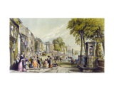 View of Cheyne Walk, Chelsea, 1840 Giclee Print by William Parrott