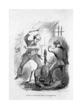 Scene in the Slave Pen at Washington, Illustration from 'twelve Years a Slave' by Solomon Northup, Giclee Print