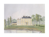 Clarence Lodge, Roehampton Giclee Print by John Hassell