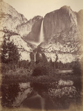 Yosemite Falls, Usa, 1861-75 Photographic Print by Carleton Emmons Watkins