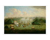 Capture of Porto Bello in 1739 Giclee Print by Peter Monamy