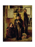 Waiting for Legal Advice, 1857 Giclee Print by James Campbell