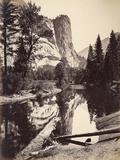 Washington Column, Yosemite National Park, Usa, 1872 Reproduction photographique par Carleton Emmons Watkins