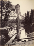 Washington Column, Yosemite National Park, Usa, 1872 Photographic Print by Carleton Emmons Watkins