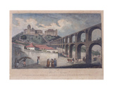 Part of the Aqueduct, with the Street Called Mata Cavalos, Rio De Janeiro, 1820 Giclee Print by James Storer