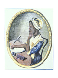 Portrait of Phillis Wheatley (C.1753-85) Giclee Print