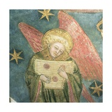 Angel Musician Playing a Psaltery, Detail from the Vault of the Crypt Giclee Print