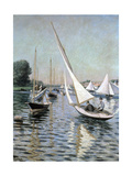 Regatta at Argenteuil, 1893 Giclee Print by Gustave Caillebotte