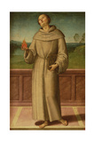 St. Anthony of Padua Giclee Print by Pietro Perugino