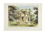 Temple of Victory, Kew Gardens, Plate 19 from 'Kew Gardens: a Series of Twenty-Four Drawings on… Giclee Print by George Ernest Papendiek