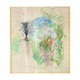 Vase in a Garden, 1890 Giclee Print by Berthe Morisot