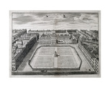 Aerial View of Leicester Square, 1754 Giclee Print by Sutton Nicholls