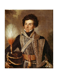 An Officer, 18th Regiment of Dragoons, 1840 Giclee Print by Sir William Allan
