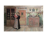 Between Christmas and New Year, from 'A Home' Series, C.1895 Giclee Print by Carl Larsson