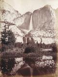 Yosemite Falls, C.1861-75 Photographic Print by Carleton Emmons Watkins