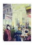 The Theatre Des Varietes, Boulevard Montmartre, 1897 Giclee Print by Louis Malteste