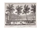 The Orangery at Sorvgliet, from 'Admirandorum Quadruplex Spectaculum', by Jan Van Call… Giclee Print by Pieter Schenk