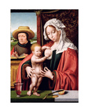 The Holy Family, C.1520 Giclée-Druck von Joos Van Cleve