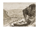 Harpers Ferry, West Virginia, C.1880 Giclee Print by Reverend Samuel Manning