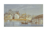The Chateau at Amboise, on the Loire, 1836 Giclee Print by William Callow