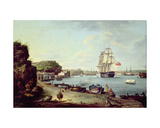 Harbour Port of Mahon, Minorca Giclee Print by Anton Schantz