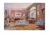 Living Room Interior, Illustration from 'Interieurs De Style' Published C.1890-1920 Giclee Print by Georges Remon