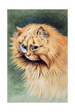 The Monocle Giclee Print by Louis Wain