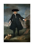 Portrait of Captain Thomas Coram (C.1668-1751) Giclee Print by Balthasar Nebot